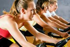 Spinning, powerplate and pilates